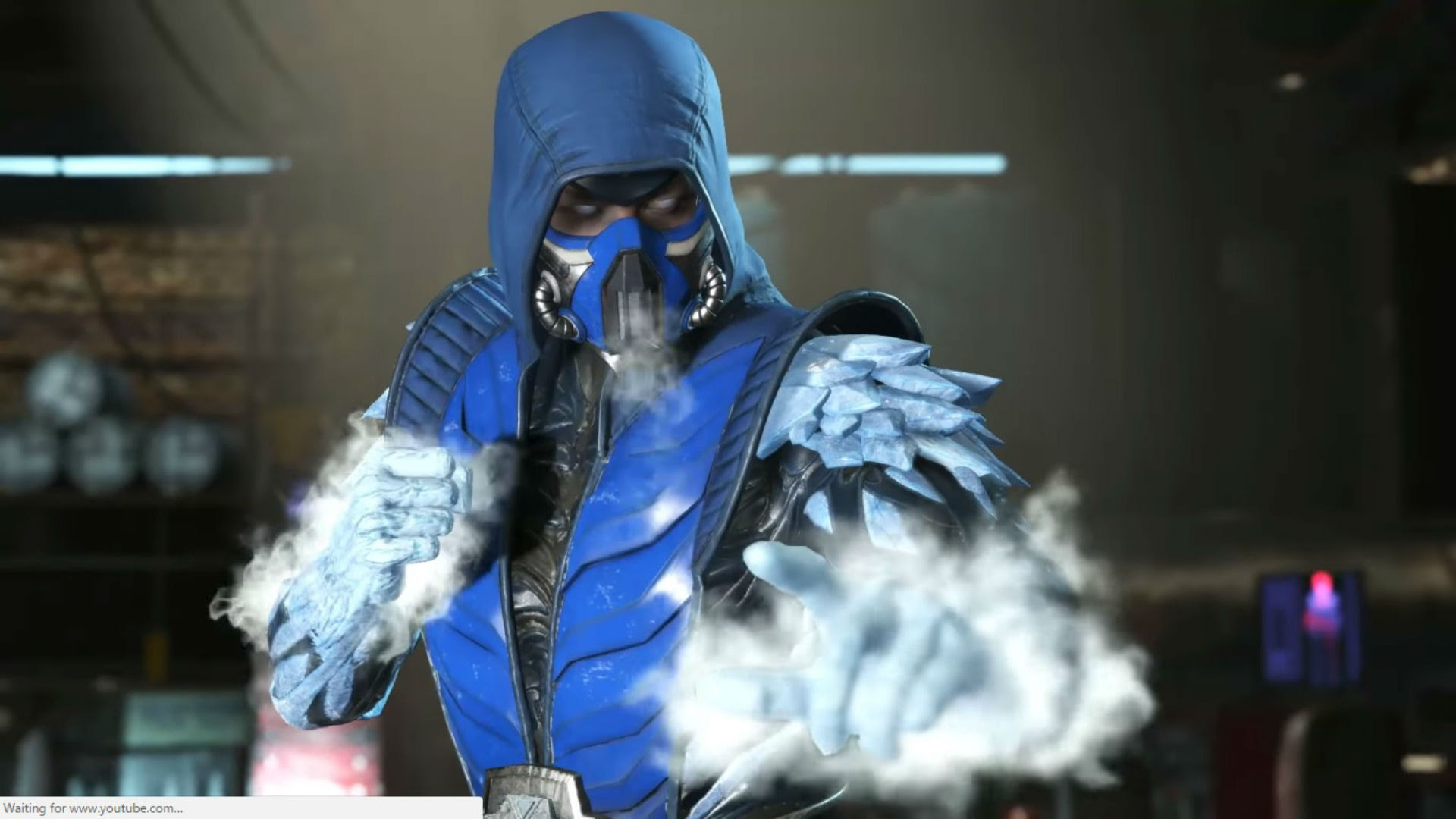 Sub-Zero looks like an icehole in Injustice 2 screenshot