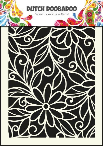 470.719.010 Dutch Mask Art Flowers