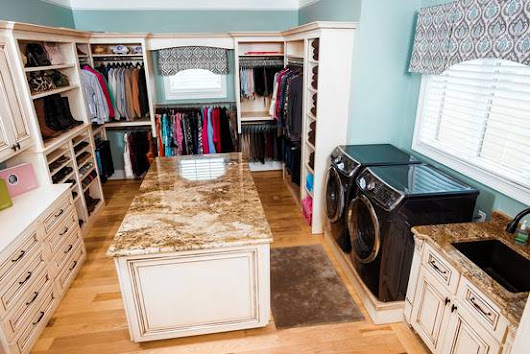 Posh Laundry Rooms to Make Dirty Clothes (Almost) Enjoyable - WSJ