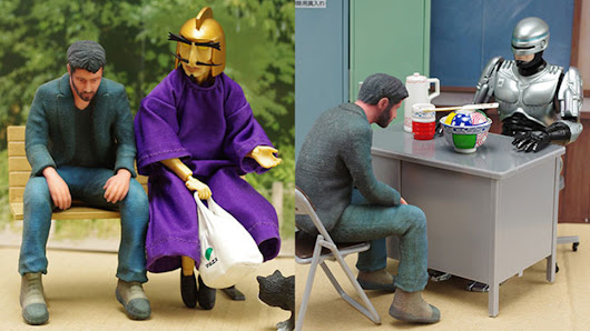 Sad Keanu Becomes The Best Japanese Toy