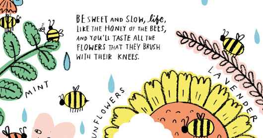 Be Still, Life: A Songlike Illustrated Invitation to Living with Presence