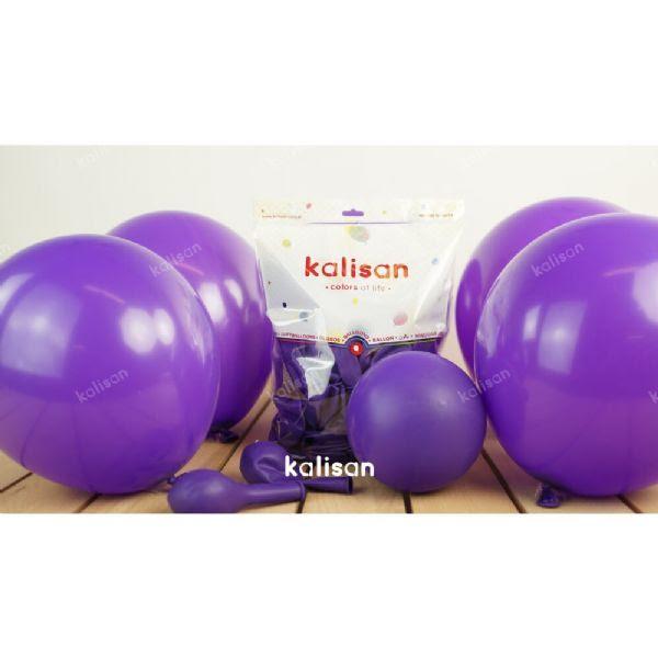 Balon 12 Inç Açik Sari 100 Adet Dekorasyon Balonu Balon