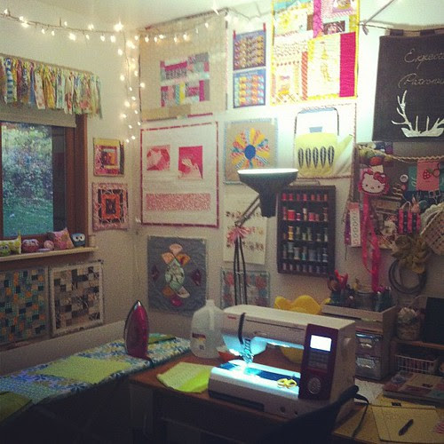 Sewing Room View by Jeni Baker
