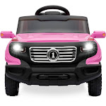 Best Choice Products 6V Kids Ride-On Car Truck Toy with RC Parent Control, Pink