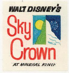 "Walt Disney's ""Sky Crown"" Logo 4"