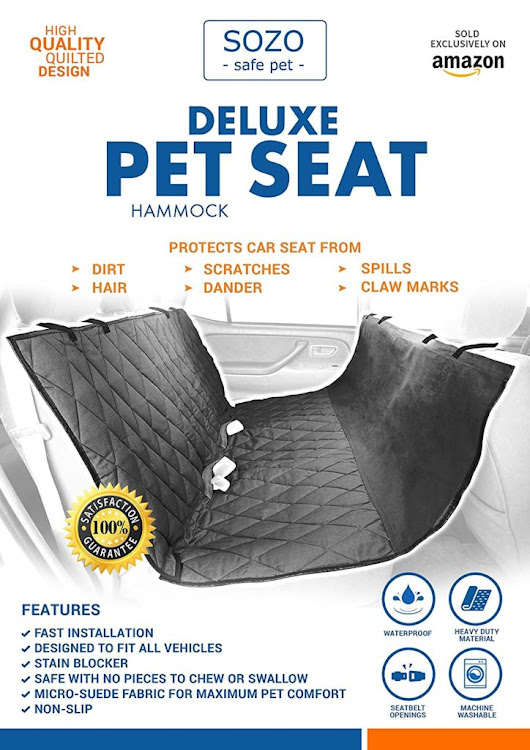 Deluxe Pet Car Seat Cover Now 73% Off from Amazon