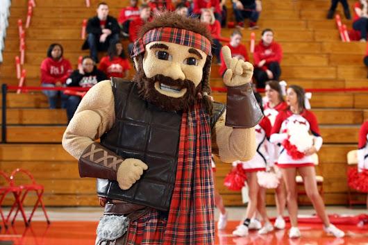 The Highlander ranked the top mascot in the 2018 NCAA Tournament | Radford University
