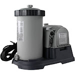 Intex 28633EG 2500 GPH Above Ground Swimming Pool Cartridge Filter Pump System by VM Express