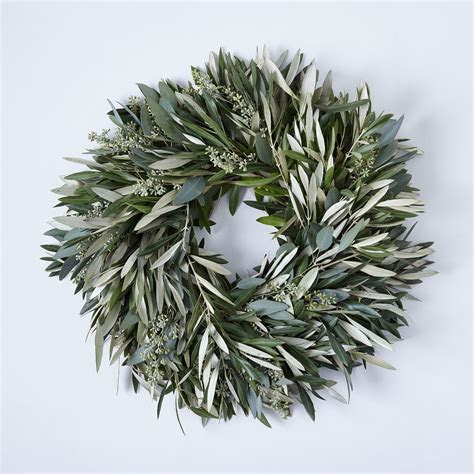 Olive & Eucalyptus Wreath on Food52