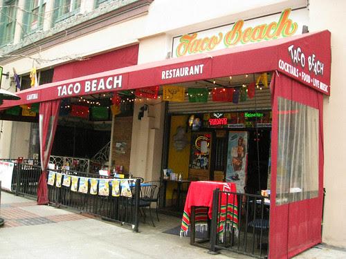 6 Stop Fish Taco Crawl: Taco Beach