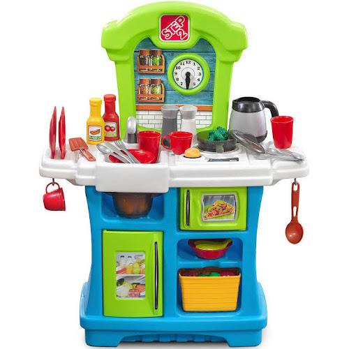 step2 kitchen playset little cooks 869000 - Step2 Kitchen