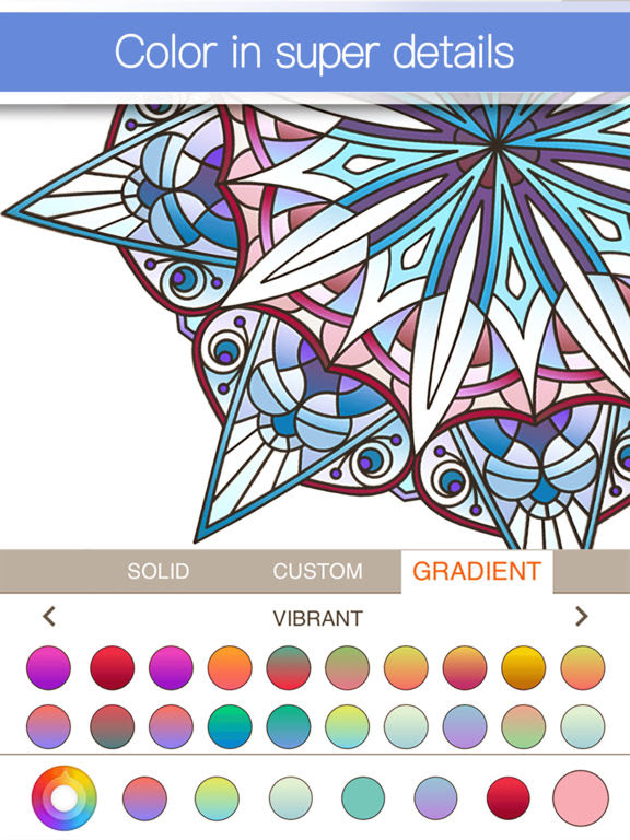 App Shopper: Colorfly : Coloring Book for Adults - Free ...