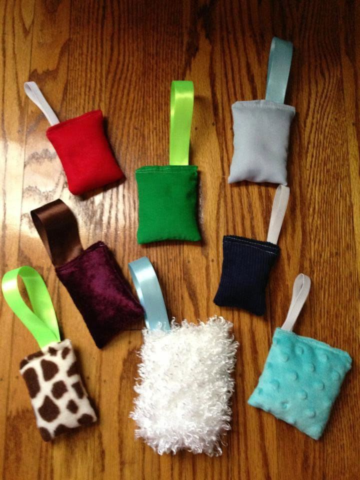 8 Sensory Hand Fidgets. $12.00, via Etsy.