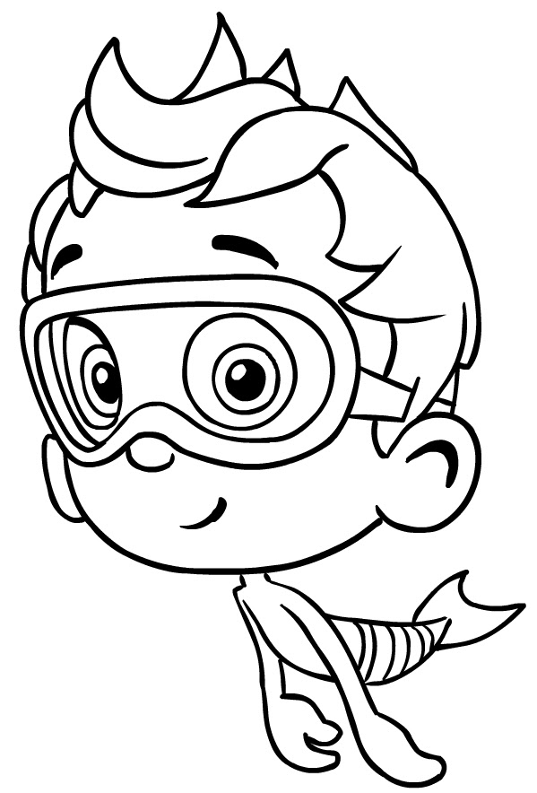 550 Bubble Guppies Coloring Pages Pdf Download Free Images