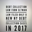 Debt Collection Law Firm Eltman Law Filed Only 9 New NY Debt Collection Cases In 2017