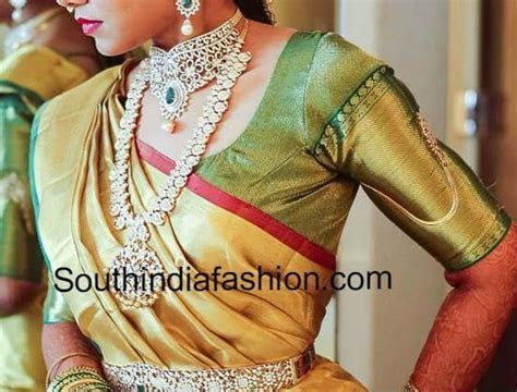 Top 10 Blouse Designs for Wedding Silk Sarees