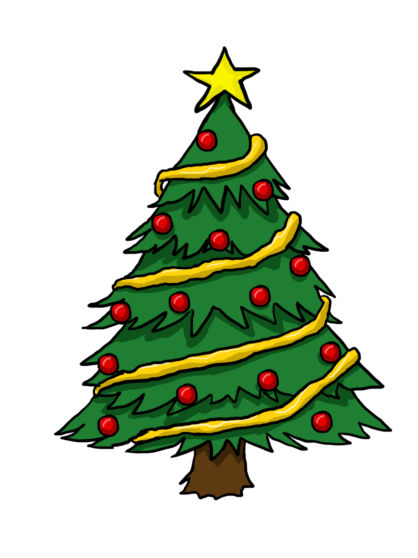 Png Clipart Clip Art Of Christmas Tree