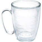 Tervis Jewel Mug, Clear, 16 oz