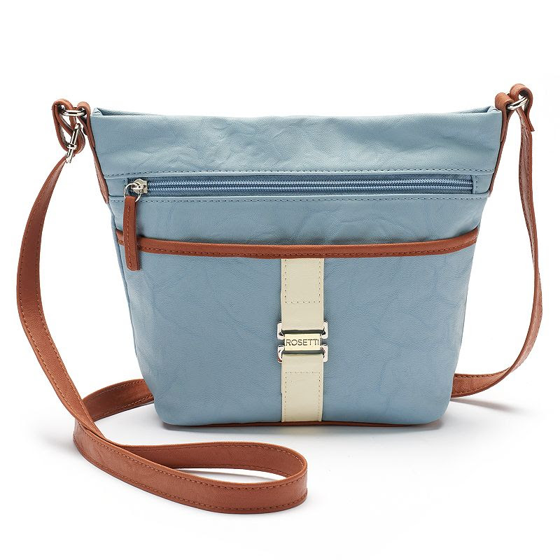 Rosetti Ray Colorblock Crossbody Bag, Women's, Light Blue