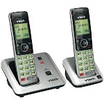 VTech DECT 6 0 Expandable Speakerphone with Caller ID 2-Handset System VTCS6619-2