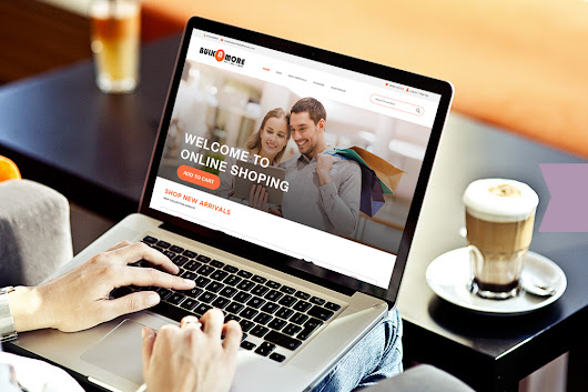 Responsive Web landing Page for Shopping