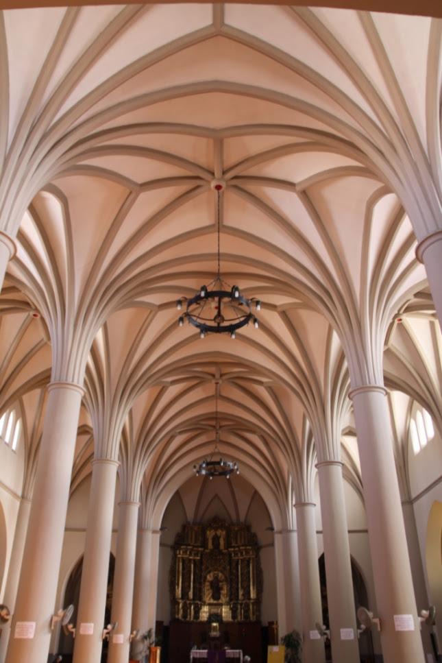 Figura 44. Interior de la nueva iglesia de la Asunción de Murchante.