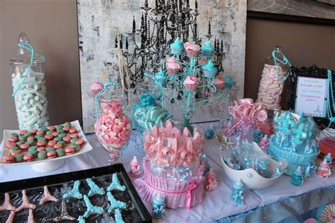 Paris Baby Shower Party Ideas   Photo 1 of 51   Catch My Party