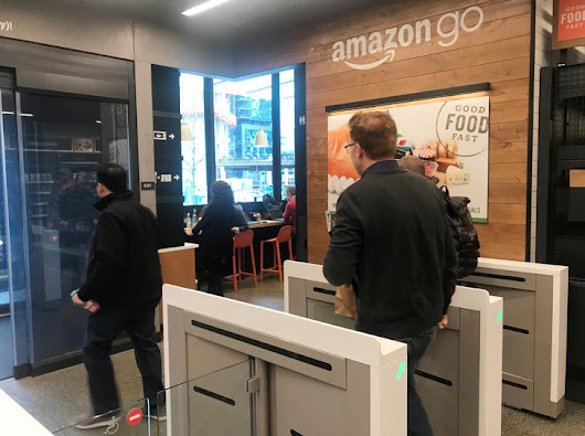 Amazon's automated grocery store of the future opens Monday | Reuters