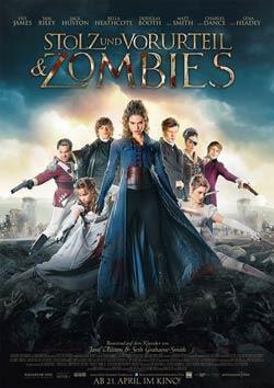 Stolz und Vorurteil und Zombies Filmplakat