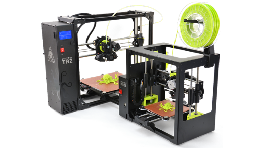 We're giving away FOUR LulzBot 3D printers