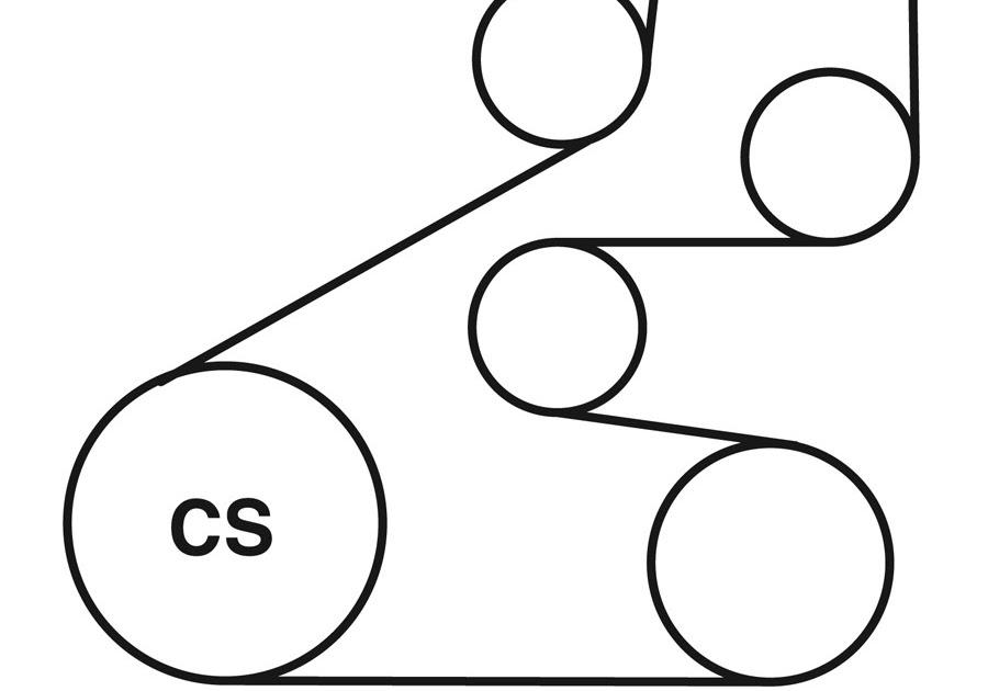 Wiring Diagram Database: 2003 Honda Accord V6 Serpentine