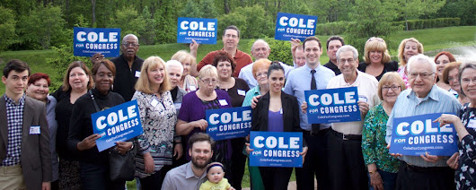 Now is our moment. Pledge to vote for Dave Cole for Congress, and let's start building a new future for South Jersey.