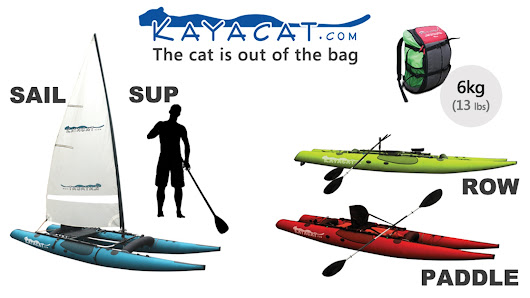 Kayacat - The Boat in a Backpack