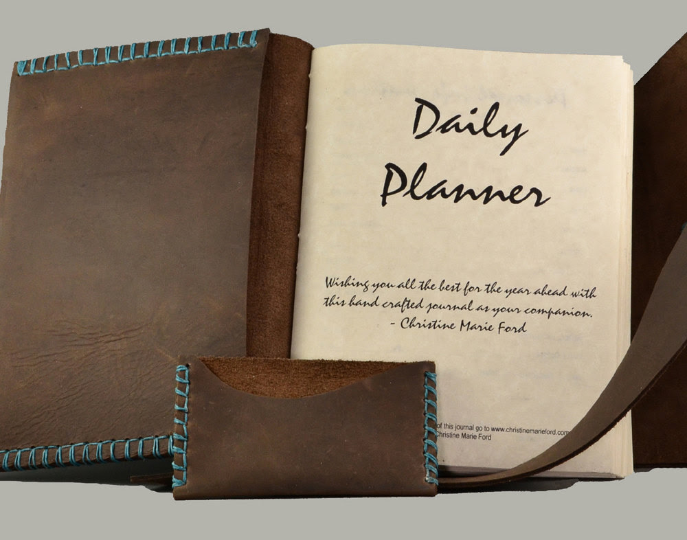 Leather Bound Day Planner