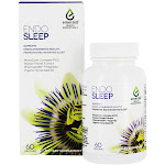 Endo Sleep Emerald Health Rest and Rejuvenation Support, Supports Endocannabinoid Health, Passion Flower Extract, 60 Count