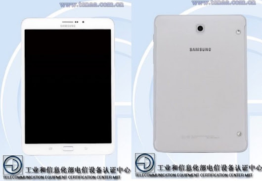 Samsung Galaxy Tab S3 8.0 TENAA spot shows specs and images - PhonesReviews UK- Mobiles, Apps, Networks, Software, Tablet etc