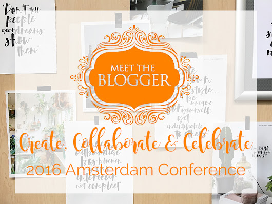 Meet the Blogger: conference 2016 - debbieschrijft.nl