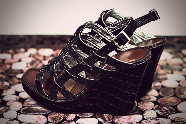 edge sandals, shoes