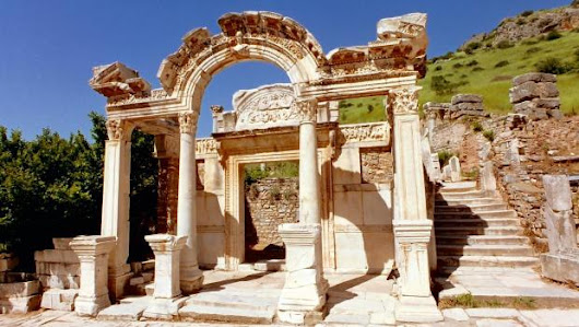 Temple of Hadrian - Ephesus Turkey