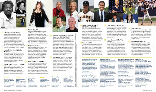 University of Michigan Notable Alumni