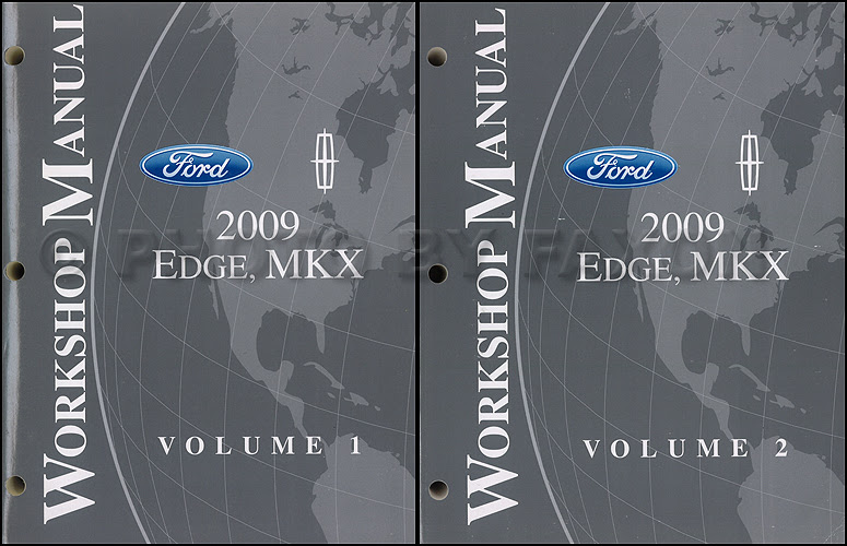 201ford Edge Mkx Service Shop Repair Set Oem 2 Volume Set And The Wiring Diagrams
