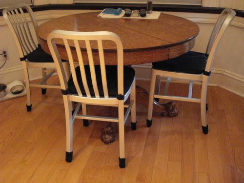 Amazon.com: Medium/White-Ribbed Furniture Sock Floor Protectors -8