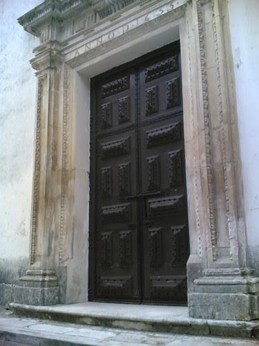 Convento de Tentúgal: Porta