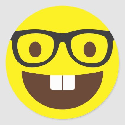 Cute Geeky Emoji Stickers