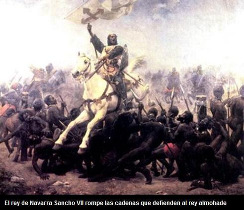 Rey Sancho rompe las cadenas