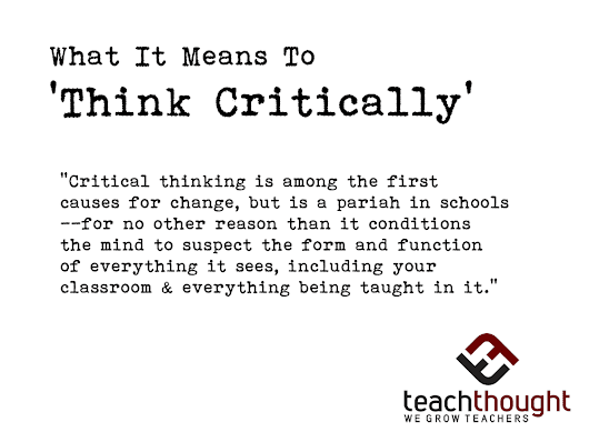 25 Of The Best Resources For Teaching Critical Thinking -