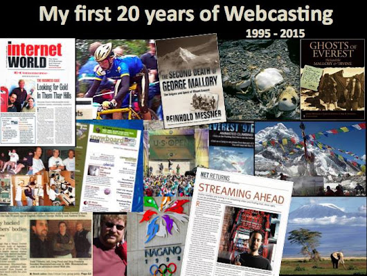 My First 20 Years of Webcasting