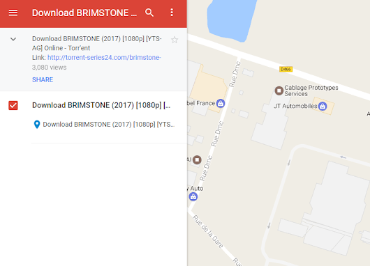 Spammers Populate Google Maps With Pirate Links - TorrentFreak