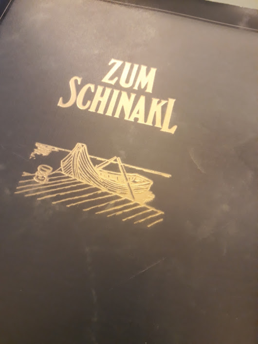 Zum Schinakl – A Typical Austrian Restaurant at the River Banks of the Old Danube