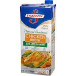 Swanson Natural Goodness Chicken Broth 33% Less Sodium - 32 oz carton